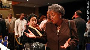 Political commentator Donna Brazile says your shoes can telegraph preference for style over substance.