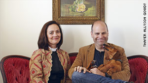 The Rev. Dana Corsello and her husband writer Andrew Corsello.