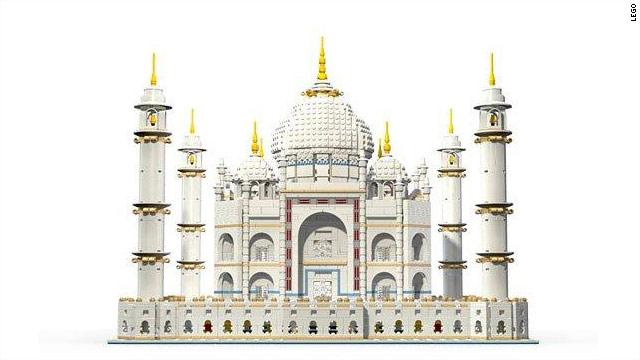 It cost $300, has nearly 6,000 pieces and kept David Beckham occupied in Italy -- the Lego Taj Mahal.