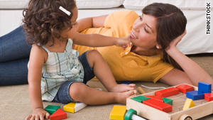 Moms can feel guilty that nannies spend more time with the children.
