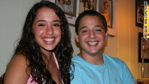 Hilit and Jonah Jacobson, 15-year-old twins, were conceived with the help of sperm donation.