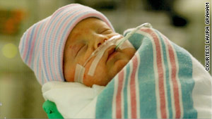 Babies in Katrina's path torn away from parents
