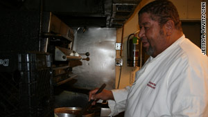 Kenneth Smith, a longtime executive chef in New Orleans, Louisiana, is on his way to becoming a priest.