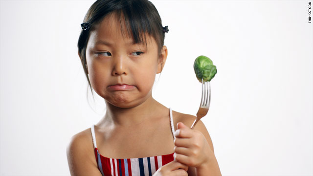 Parents might tell white lies in order to get their children to eat vegetables.