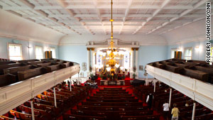 Church leaders want to restore the historic building on Savannah's Franklin Square.