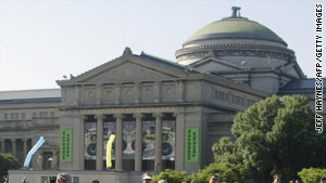 Kate McGroarty will receive $10,000 at the end of her month-long stay at the Chicago Museum of Science and Industry.