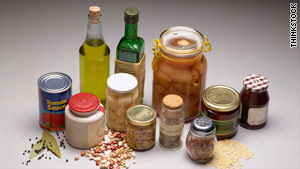 It should only take 15 minutes to clean your pantry of expired goods, excess cans and spills.
