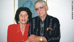 "Dorothy ""Granny Dot"" and her husband, Kenneth Landgraf."