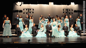 At Waltham High School, the show choir club saw a record number of auditions.