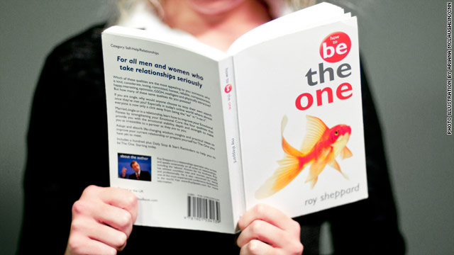 "Roy Sheppard says a fish adorns his book as a reference to the advice, ""There are plenty more fish in the sea."""