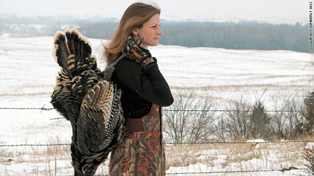 Kimberly Hiss felt conflicted after killing her own Thanksgiving turkey.
