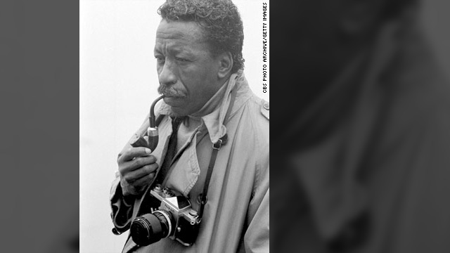 Gordon Parks, seen here in 1968, was the first African-American photographer for Life magazine.