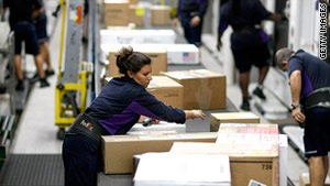 FedEx says it expects to see the busiest shipping day in the company's history Monday.