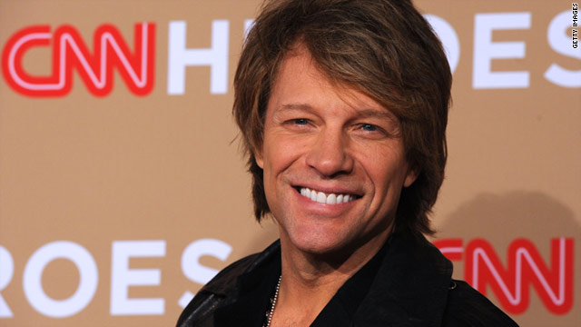 "Jon Bon Jovi said ""CNN Heroes: An All-Star Tribute"" was the most exciting television awards show he has participated in."