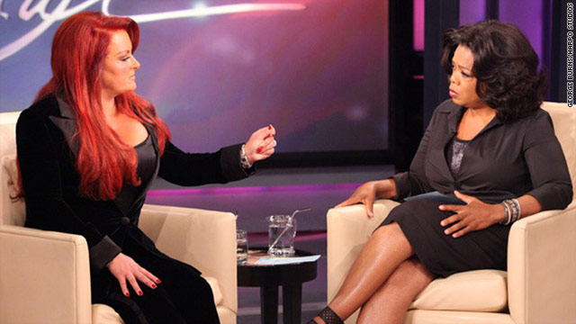 "Wynonna Judd: ""I just had to have faith and believe in someone else because I didn't believe in myself."""