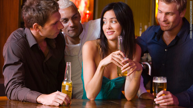 Engaging in conversation with a male stranger could lead him to believe that you're flirting or interested in him in some way.