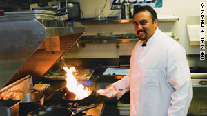 Chef Jeremy Bryant is batting 1.000 with baseball's Seattle Mariners.