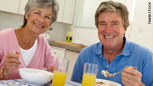 Boomers love their cereal, research shows.