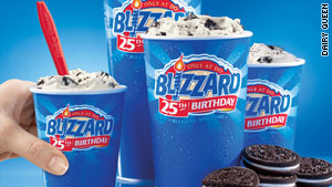 Dairy Queen is shrinking its Blizzard.
