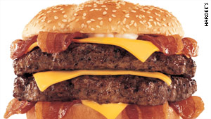 Hardee's Monster Thickburger is for serious diners who have room for 1,420 calories.