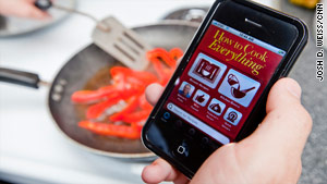 The iPhone seems ready to turn into the hottest kitchen accessory since the food processor.