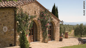 Riserva di Fizzano is a cooking school part of the year and a bed and breakfast the rest of the time.