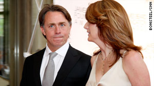 John Besh and his wife, Jenifer, arrive at the James Beard Awards in New York on May 3.