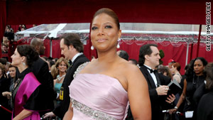 Actress Queen Latifah arrives at the 82nd Annual Academy Awards in March.