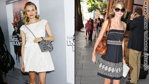 Diane Kruger and Taylor Swift carry chic, yet functional, bags.