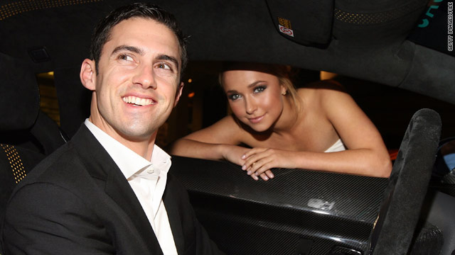 Milo Ventimiglia and Hayden Panettiere before their break up.