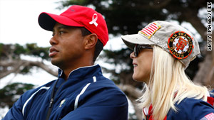 Tiger Woods has apologized for cheating on his wife Elin Nordegren.