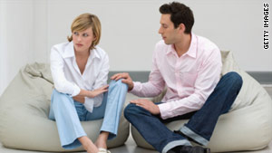 Experience teaches some couples what they should or should not talk about, therapist says.