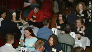 Speed-dating events are popular ways for singles to meet potential romantic partners.