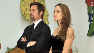 Brad Pitt was married to Jennifer Aniston when he met Angelina Jolie on a movie set.