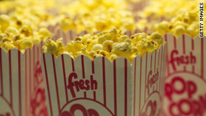 Will movie goers give up buttery popcorn for fruit or vegetables?