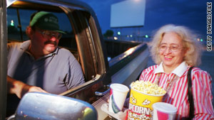 Popcorn and drinks enhance a movie experience, some audience members say.