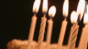 When your birthday cake is ablaze with candles, think of the positive points of aging.