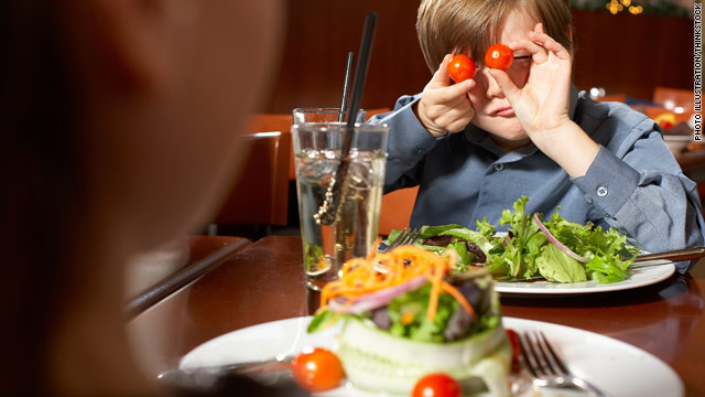 Not all children have been taught the manners necessary to ensure that everyone at a restaurant will enjoy the experience.