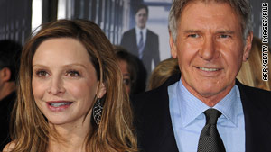 Harrison Ford is more than 20 years older than Calista Flockhart whom he reportedly proposed to last year.