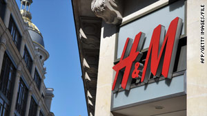 """H"" comes from a women's store called Hers and ""M"" comes from a hunting supplier called Mauritz Widforss."