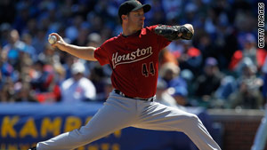 After Roy Oswalt helped the Houston Astros get to the 2005 World Series, he was given a bulldozer.