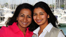 Divya Kakaiya and her daughter Roshni
