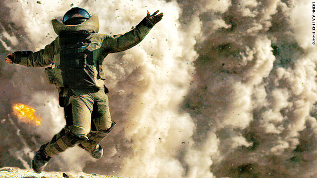 """The Hurt Locker,"" says screenwriter John Milius, ""doesn't shove into people's faces the idea of how terrible the war is."""