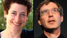 Naomi Oreskes, left, and Erik Conway