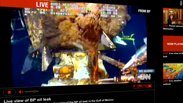 Bob Greene says it seems BP's live feed of gushing oil has been going forever