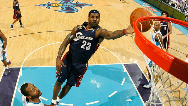 LeBron James is the talk of the country as he turns in his Cleveland jersey and heads to Miami, but how long can that fame last?