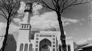 Masjid Hazrat Abu Bakr in Flushing, Queens, pictured in the mid-1990s.