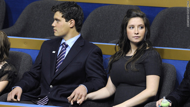 Levi Johnston and Bristol Palin, together at the Republican National Convention in 2008, reportedly have called it quits again.