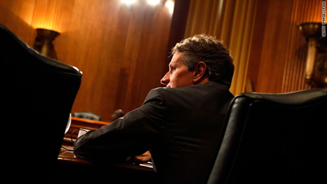 U.S. Treasury Secretary Timothy Geithner testifies before the Senate Finance Committee on Capitol Hill in June.