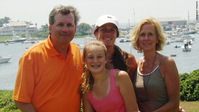 Dr. William Petit Jr. with his daughters Michaela and Hayley and his wife, Jennifer Hawke-Petit.